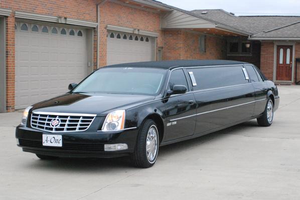Black Cadillac Limousine A One Limousine
